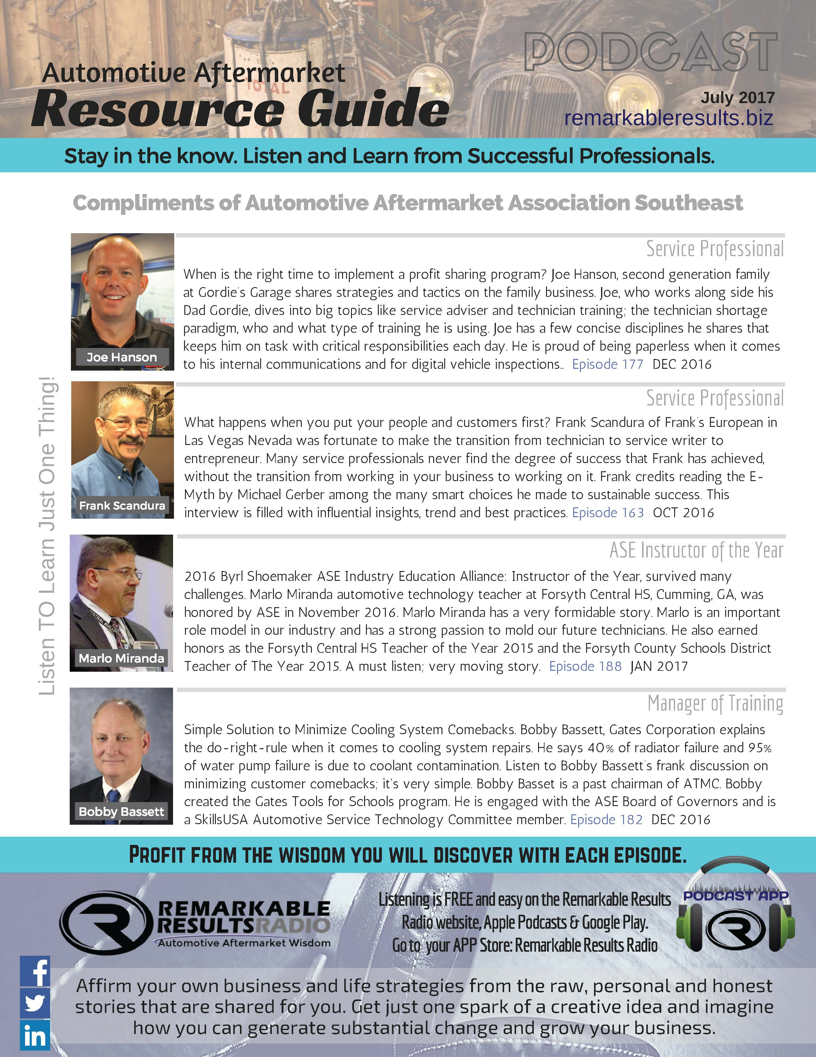 News :: Automotive Aftermarket Association Southeast